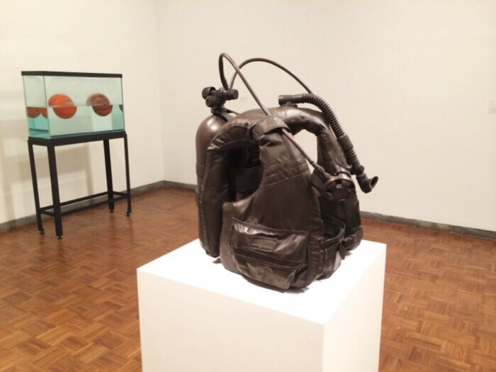 Jeff Koons bronzed artwork
