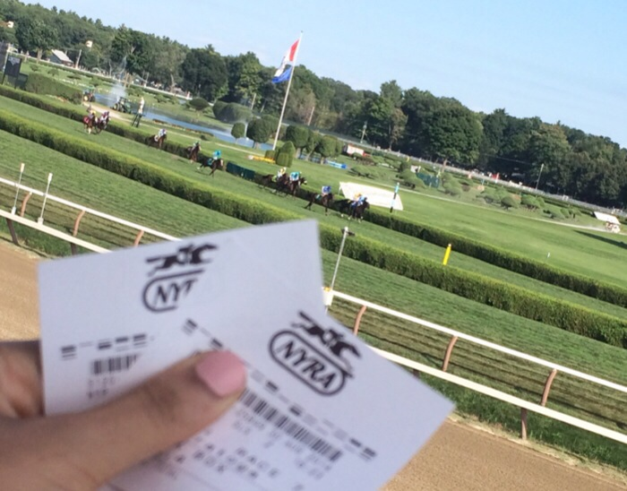 betting at the race track