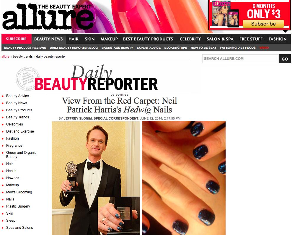 Neil Patrick Harris Hedwig nails at the Tony Awards