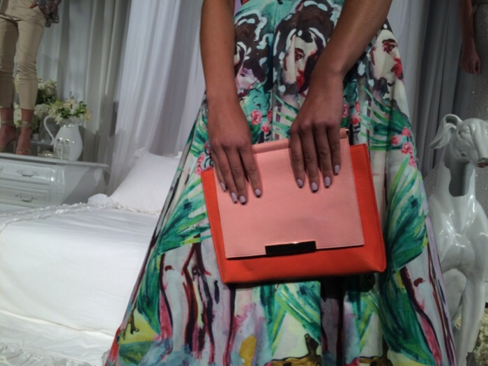 Essie nails at alice and olivia