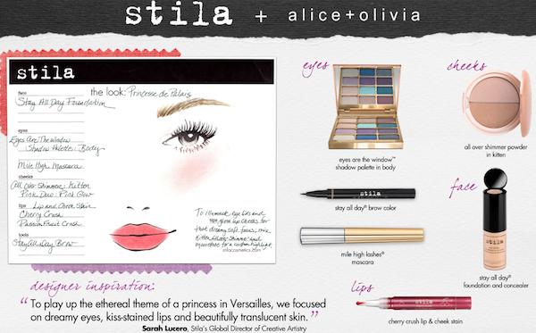 Alice & Olivia Makeup Tutorial with Stila Cosmetics