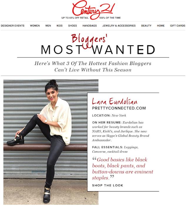 Century 21 featured blogger, lara eurdolian