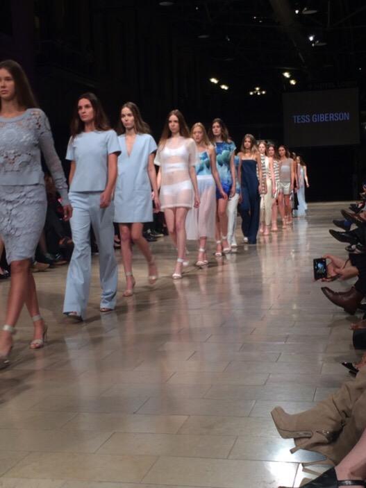 Tess Giberson Spring 2015 fashion show