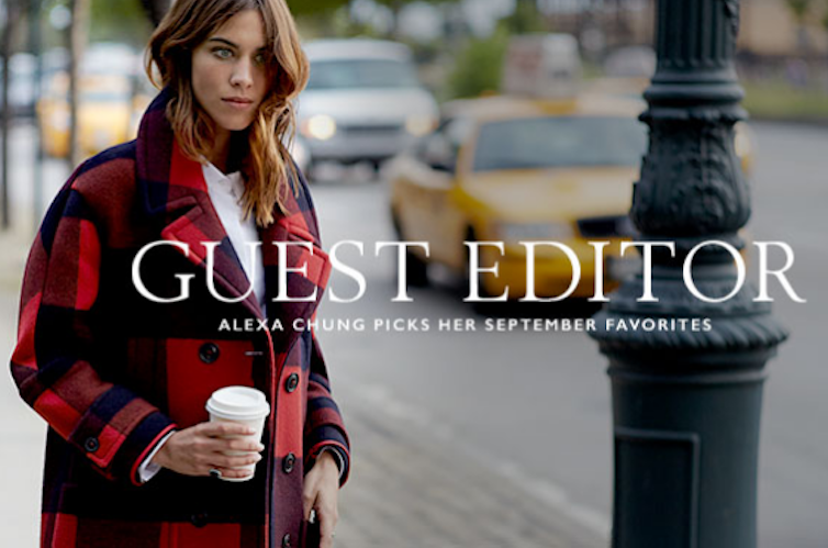 a8e8c382f7dfa Alexa Chung Partners with Tommy Hilfiger - Pretty Connected