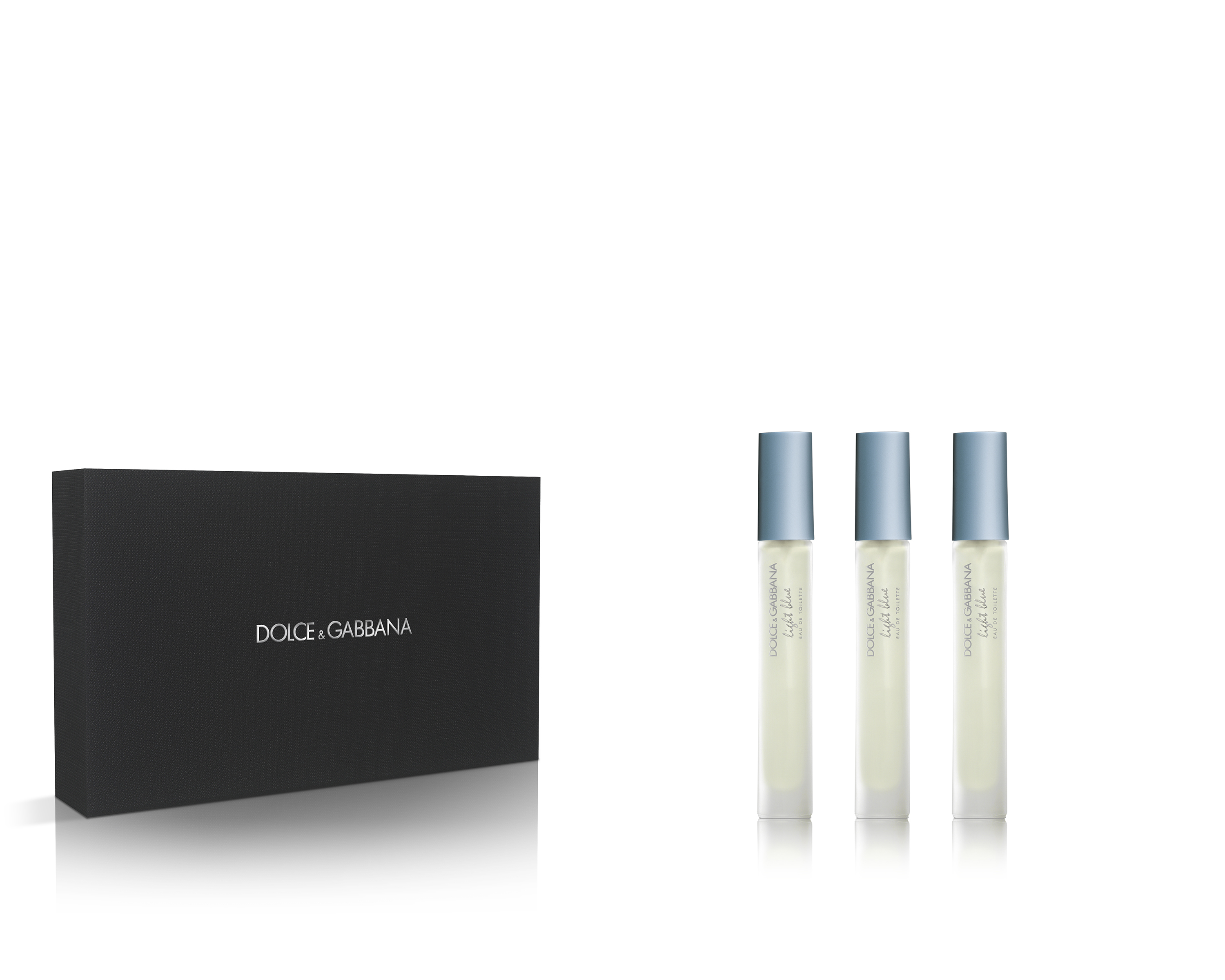 D&G Light Blue Rollerball Set