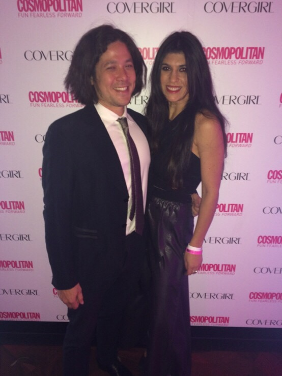 covergirl new years party