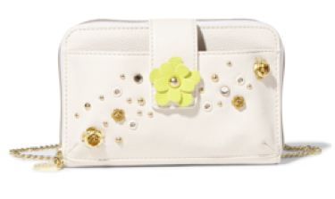 Betsey Johnson Pushing Daisies crossbody bag