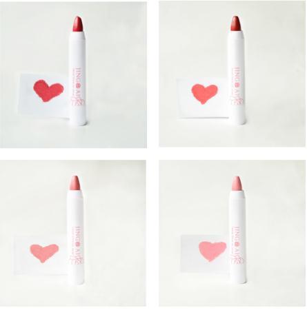 Jing Ai Velvet Shine Lip Crayons