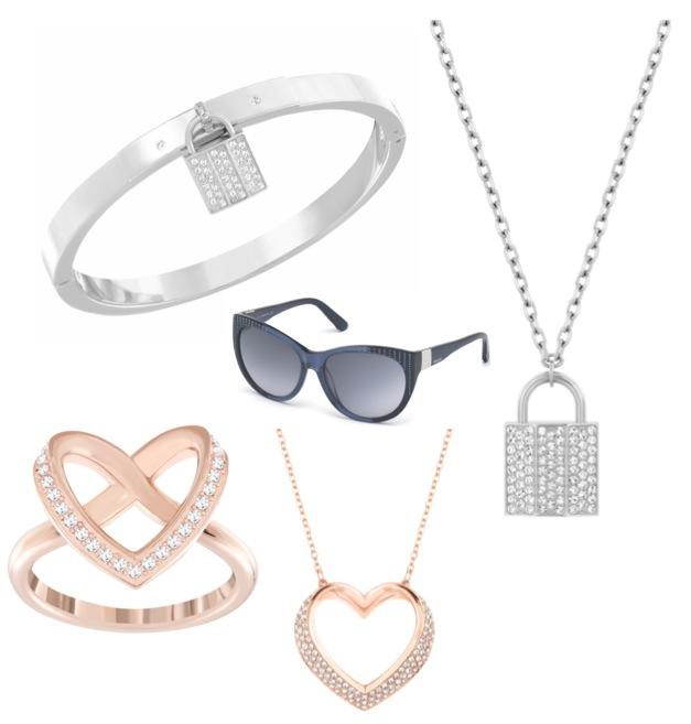 Swarovski jewelry Marcolin Swarovski Eileen Sunglasses