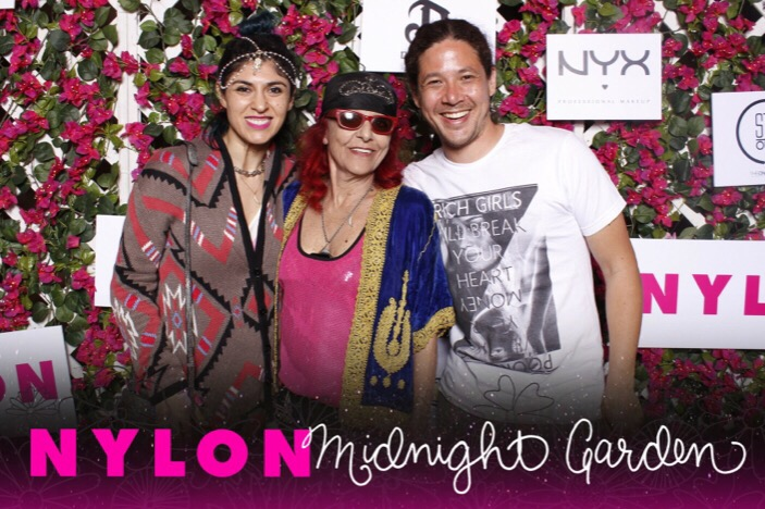 nylon midnight garden party coachella, patricia field, lara eurdolian