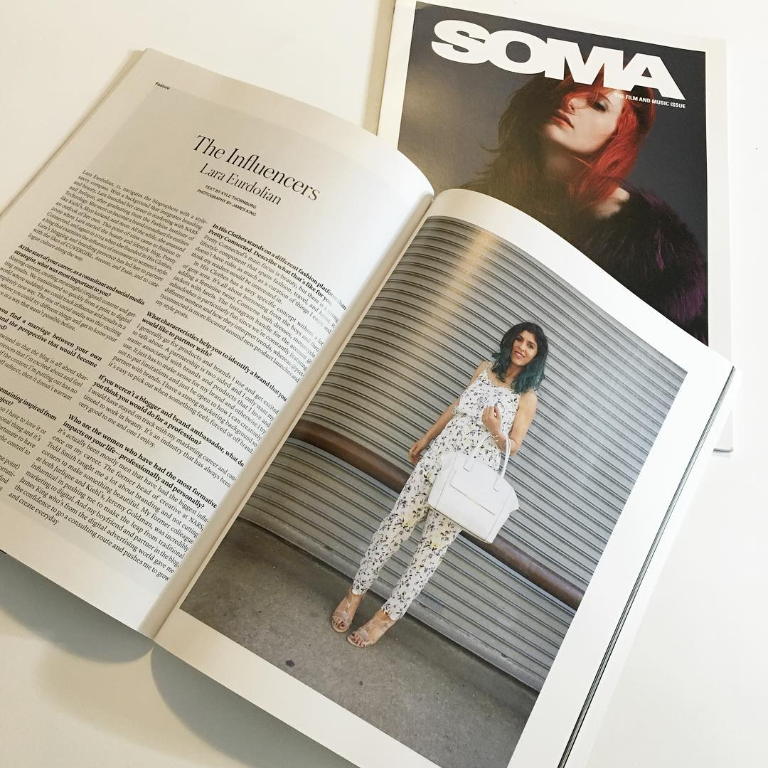 soma magazine lara eurdolian pretty connected