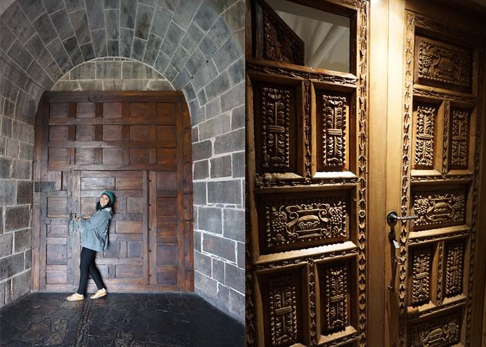 Even the doors have doors