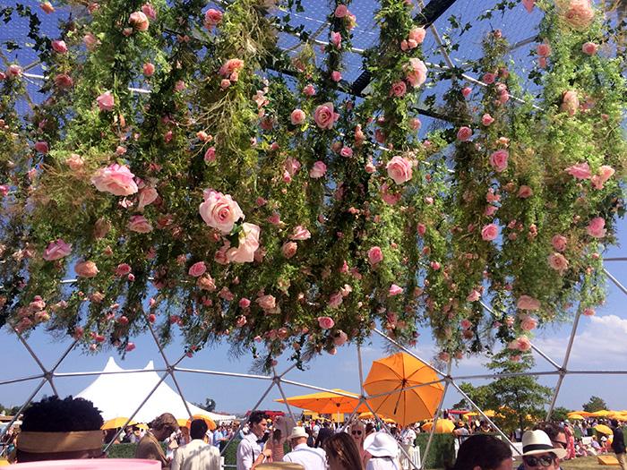 veuve clicquot rose garden