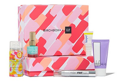 Birchbox x Gap collaboration