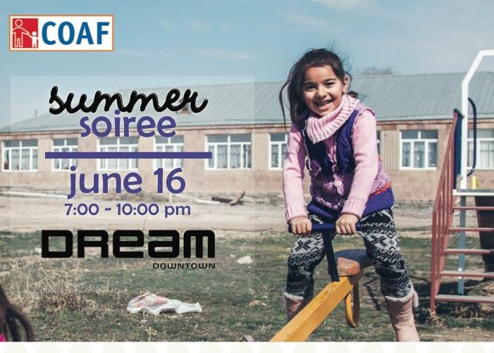 Children of Armenia Fund Summer Soiree