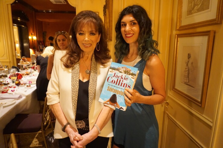 Jackie Collins book launch