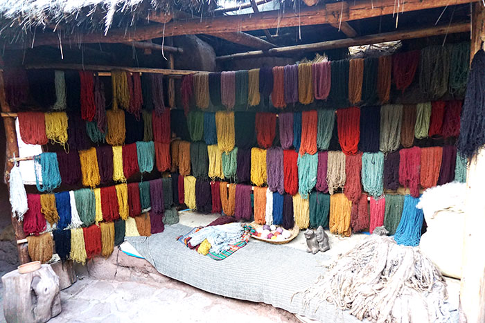 peru sacred valley yarn