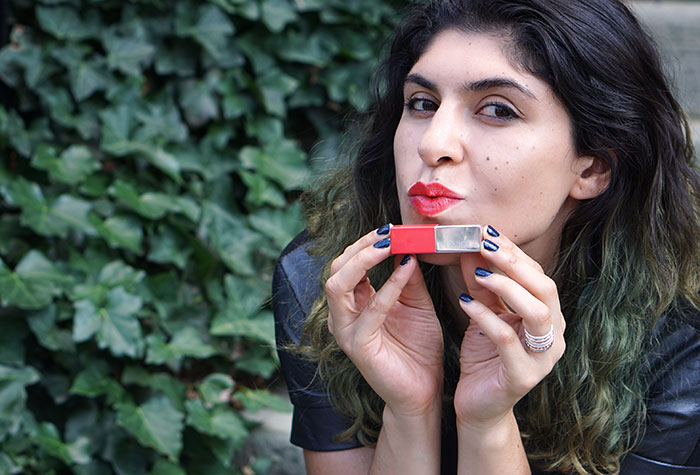 Clinique lipstick poppy pop