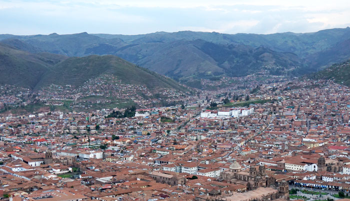 Cusco Bird's Eye View