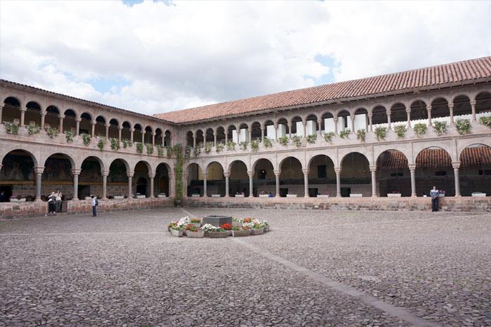 Cusco stone court yard