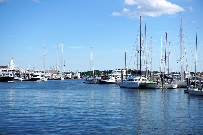 newport rhode Island harbor water