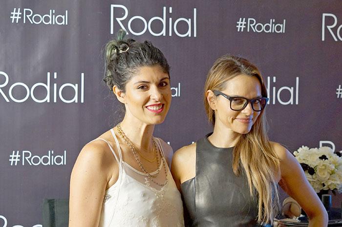 Lara Eurdolian and Maria Hatzistefanis at Rodial US makeup launch