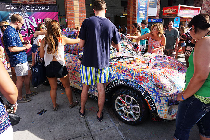 win a mini cooper from sinful colors