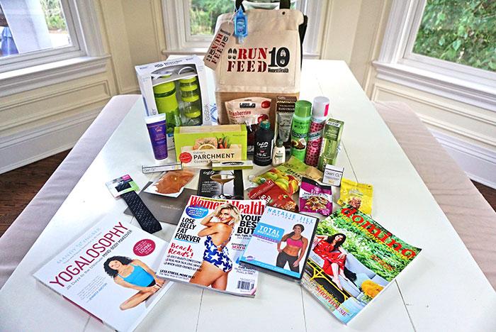 women's health gift bag giveaway