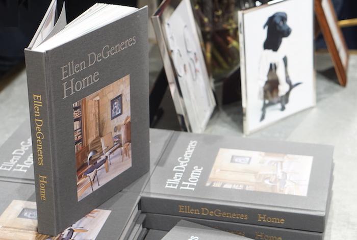 Ellen DeGeneres Home book launch at bergdorf goodman