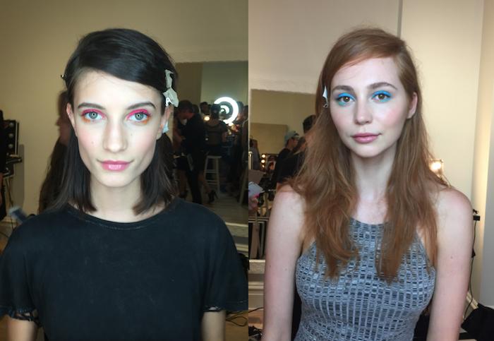 nanette lepore fashion show stila cosmetics makeup by charlie riddle nyfw