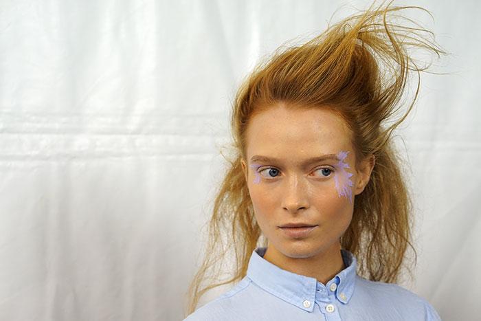 issey miyake makeup look by mac