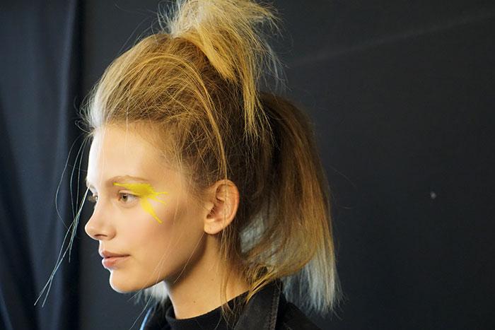 mac cosmetics pigment backstage at issey miyake