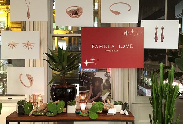 Pamela love launches limited edition jewelry collection exclusive to pamela love ebay collection malvernweather Image collections