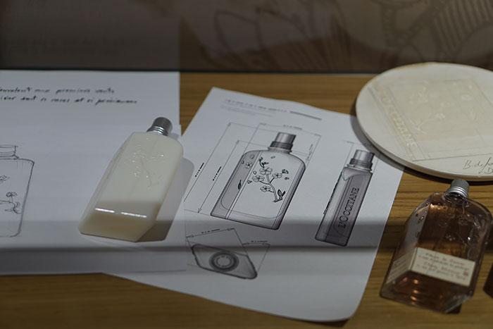 Olivier Boussan bottle sketch before production