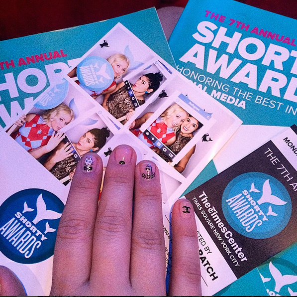 choupettes diary shorty award