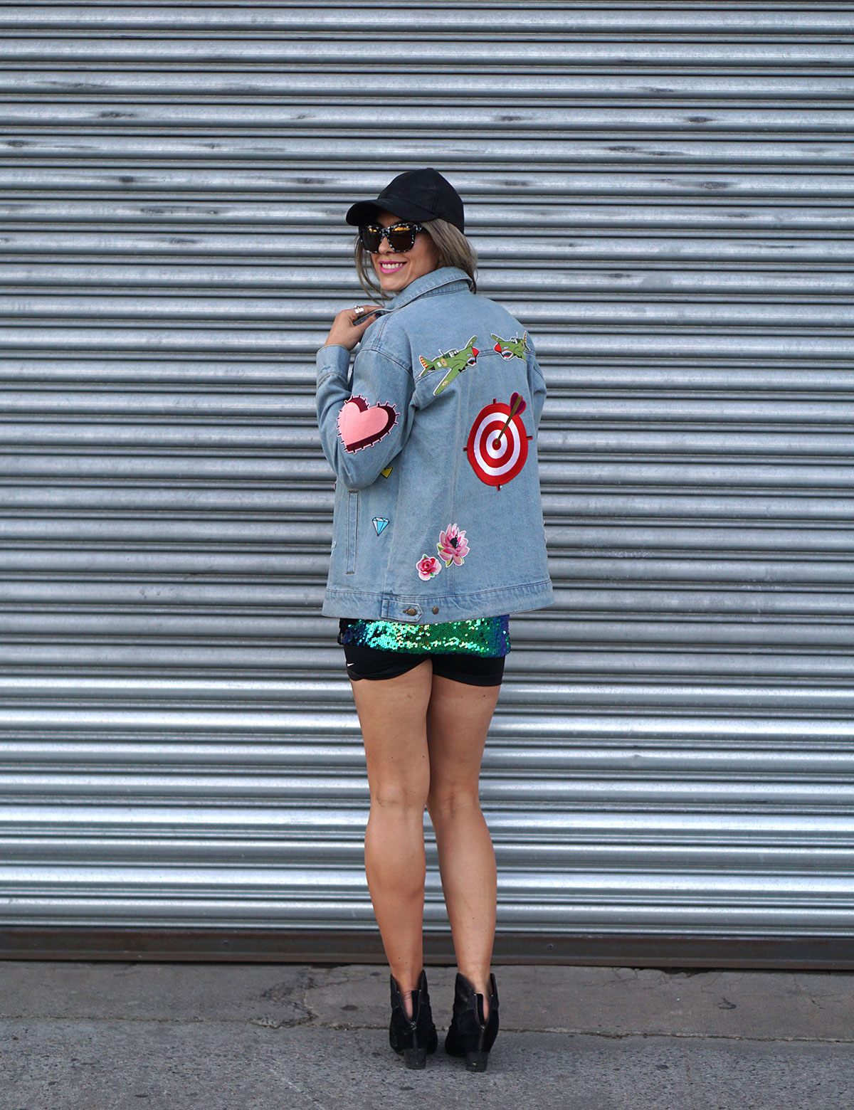 Reflex Love You With All My Art Denim Jacket Susie Tsai
