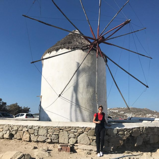 Woke up early to get the Mykonos Windmills to myself!hellip