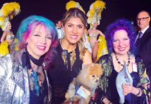 Lara Eurdolian with Tish and Snooky of Manic Panic