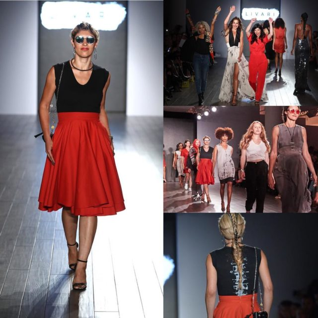 My biggest nyfw highlight walking for livariclothing fashion show createdhellip