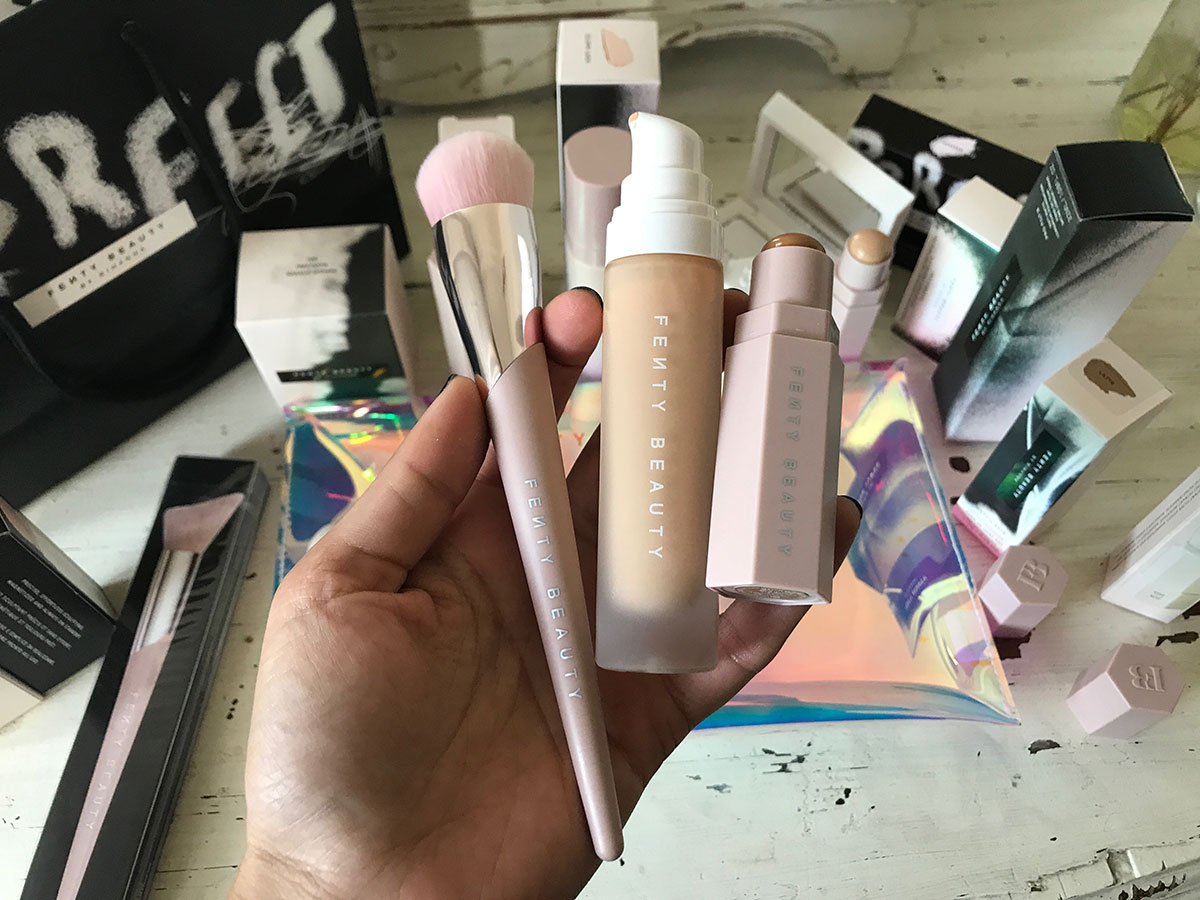 Rihanna Fenty Beauty Launch Party Pretty Connected