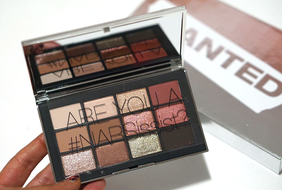 nars wanted palette excluse to sephora.com
