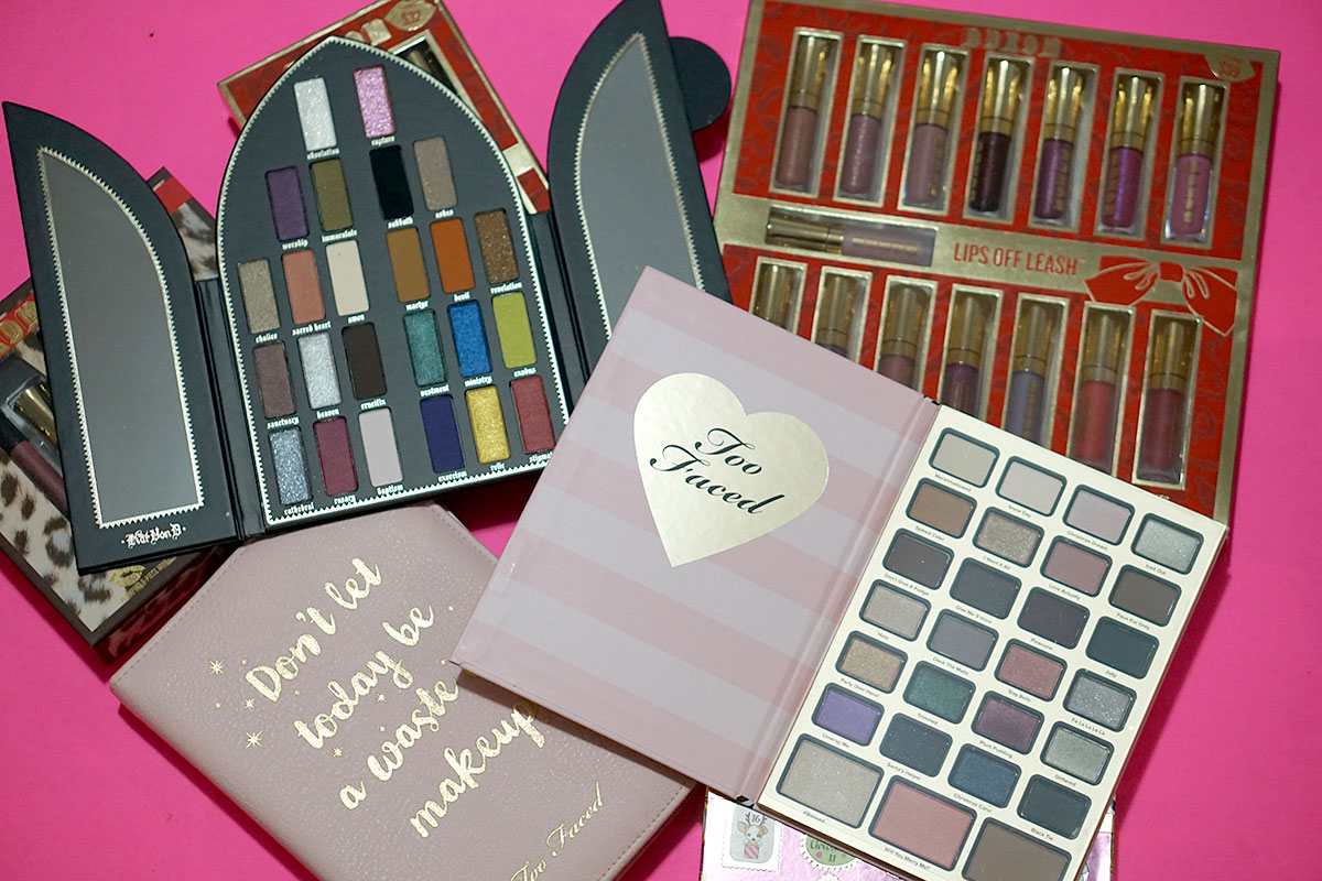 Sephora holiday sets from Buxom, Kat Von D and Too Faced