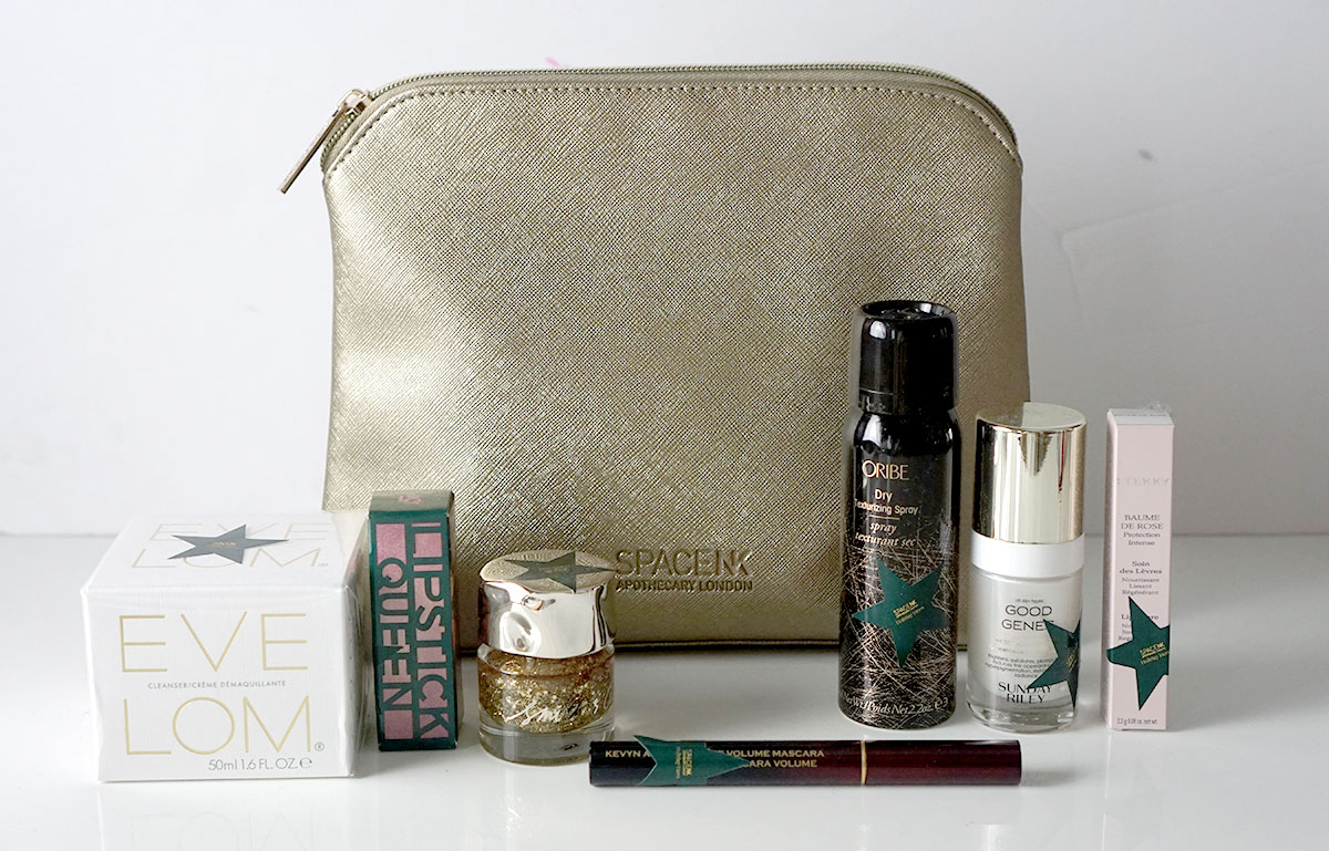 SpaceNK Holiday Heroes Best of Space NK featuring Eve Lom, Kevyn Aucoin, Oribe, By Terry, Sunday Riley, Smth & Cult and Lipstick Queen
