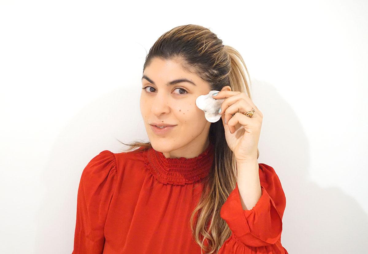 kleenex eye makeup remover pads