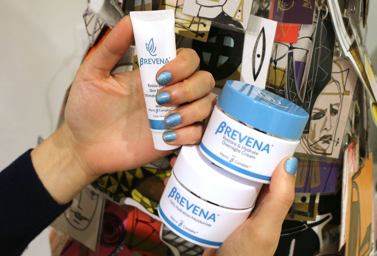 brevena skincare for dry skin