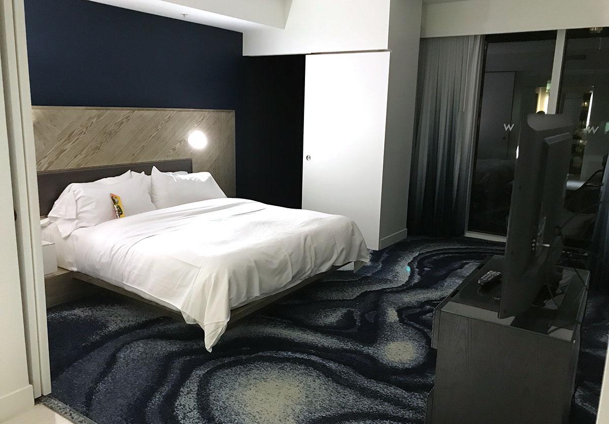 W Hotel Fort Lauderdale Was Suite Makeup Sincere