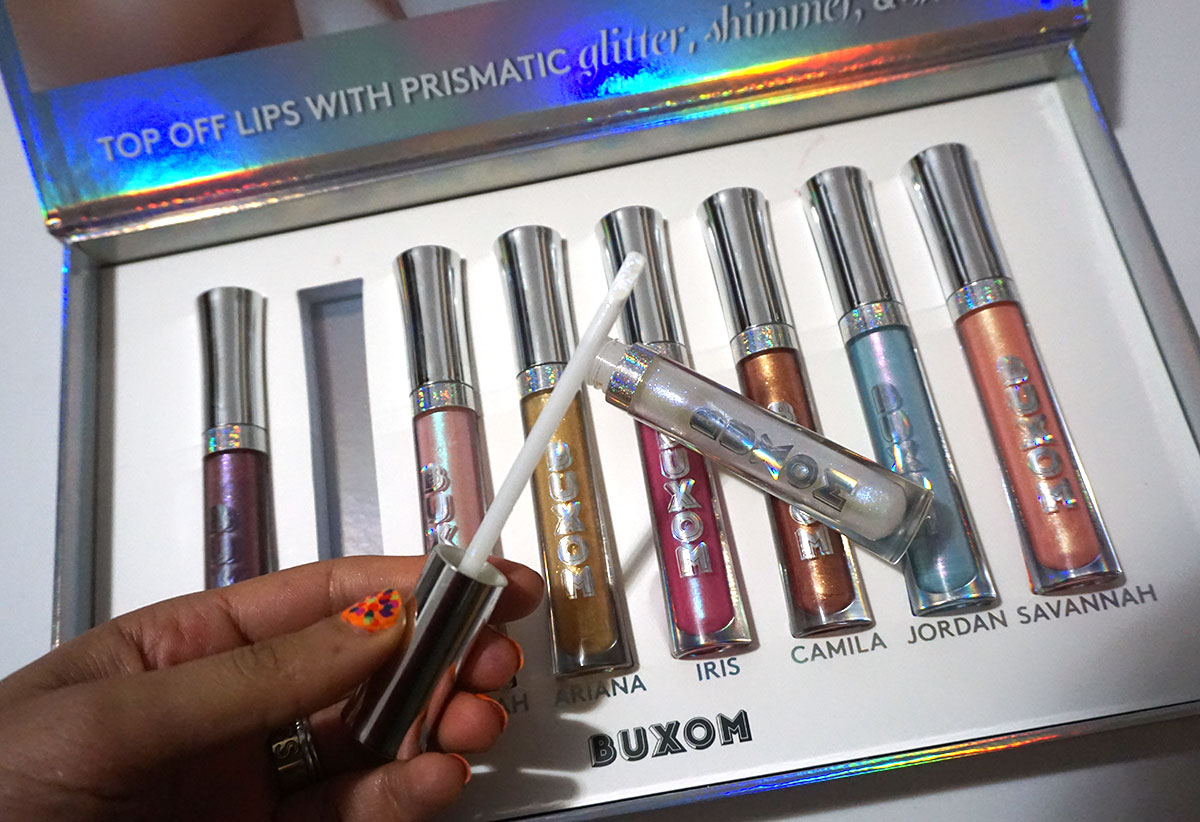 Buxom Holographic Full-On Plumping Lip Polish Top Coats