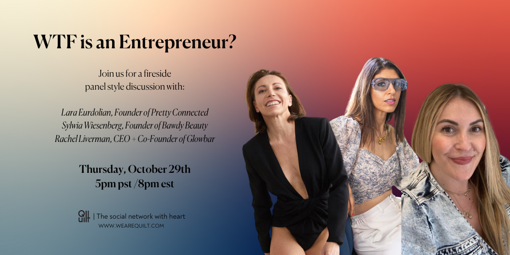 Entrepreneur panel with lara eurdolian